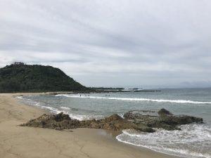 近接のビーチ